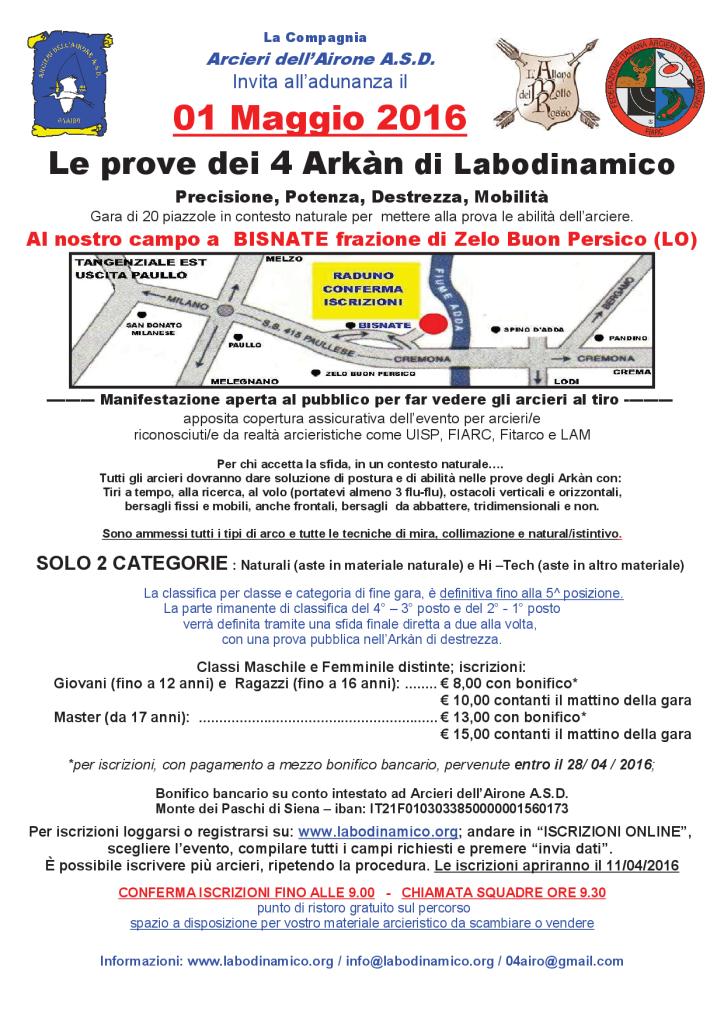 20160501 - Volantino Le prove dei  4 Arkàn_1